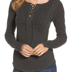 [Lucky Brand] Long Sleeve Thermal Top